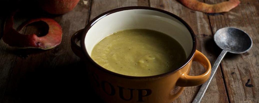 Zupa selerowo-jabłkowa
