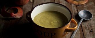 Apfel-Sellerie-Suppe
