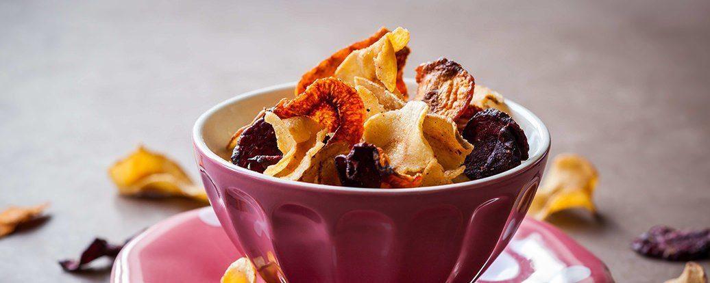 Warzywne chipsy