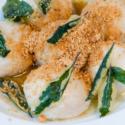 Gnudi-delikatne kluseczki z tofu i semoliny