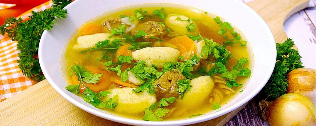 Wegańska zupa weselna