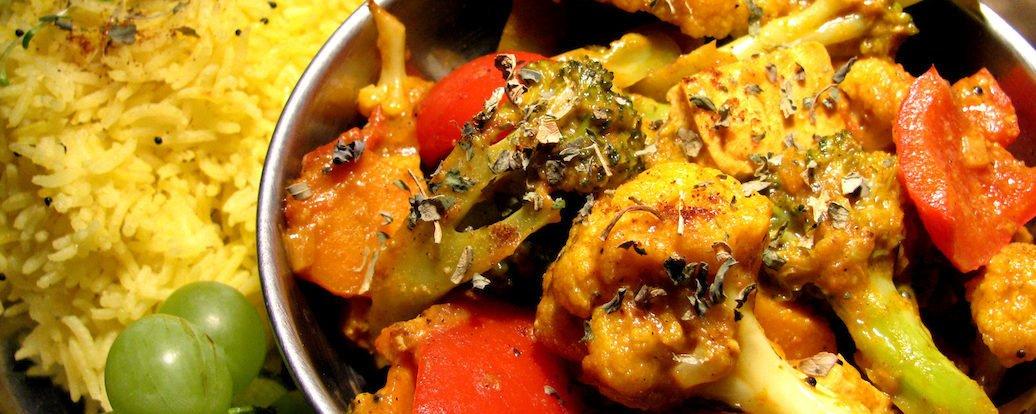 Veg Jalfrezi – Warzywa w sosie curry