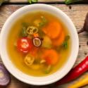 Bulion na zupę i domowe kostki bulionowe