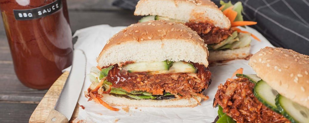 Jackfruit burger