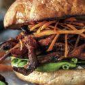 Grzybowy burger