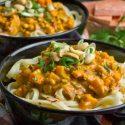 Asia-Bolognese z batatami i tofu