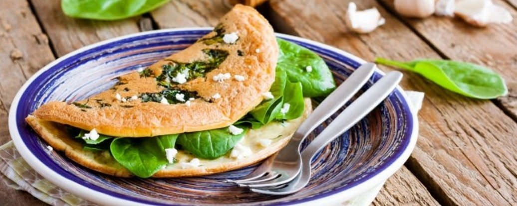 Idealny wegański omlet