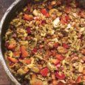 Kasza gryczana z pieczarkami i papryką curry