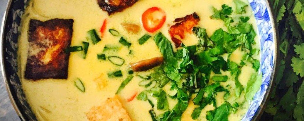 Idealna tajska zupa Tom-kha
