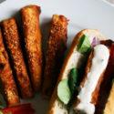 Paluszki z tofu w panierce