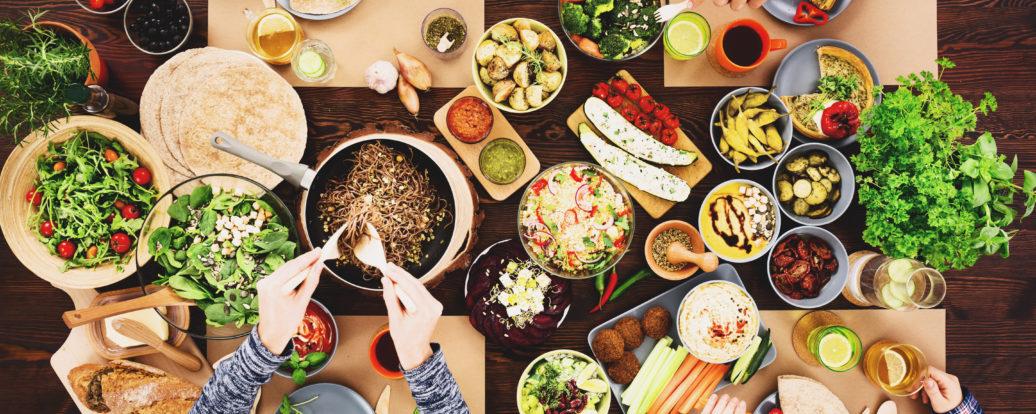 Wegańskie jedzenie poza domem